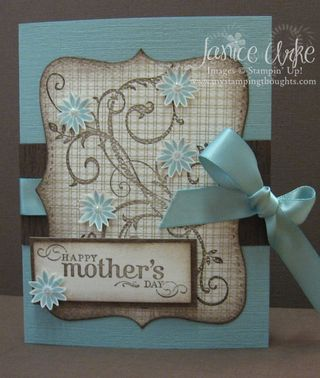 Mother's Day card front May 09