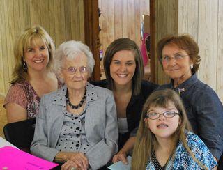 Grandma, mom & the girls