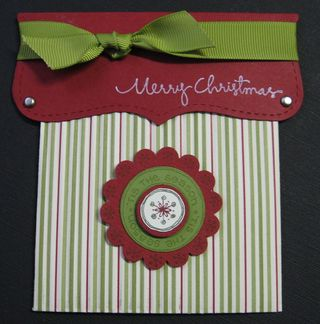Merry Christmas Gift Card Pouch