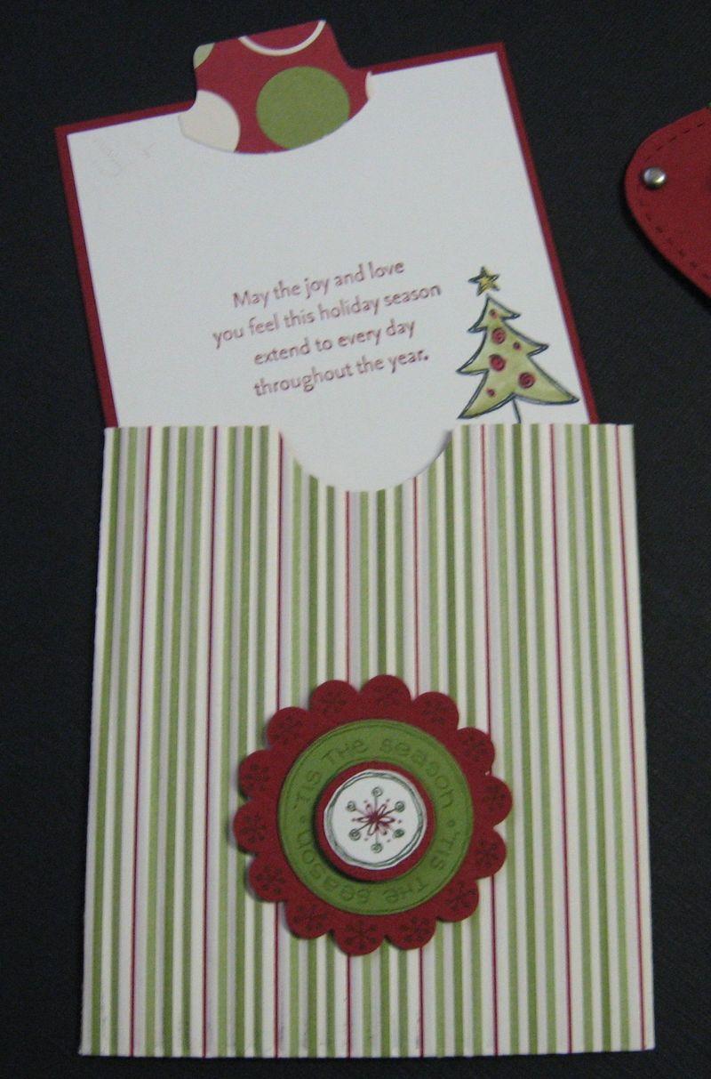 Merry Christmas Pocket inside