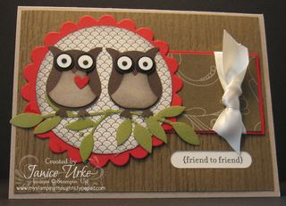 Friend to Friend - owl