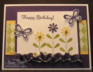 Happy Birthday Butterflies