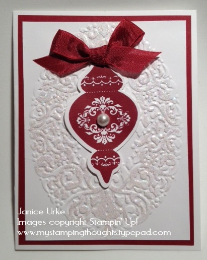 Ornament red-1