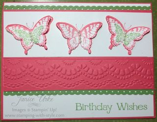 1 card -Birthday Butterfly